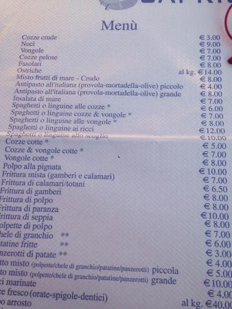 Lido Conchiglie, Ιταλία: Scapricciatiello
