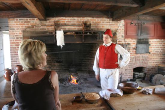 Fort George National Historic Site of Canada: WHAT'S COOKING