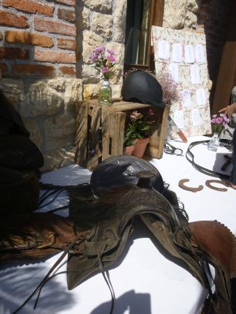 Finca Villa María: DETALLE EN EL JARDIN DE APERITIVOS