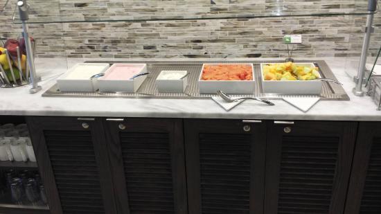 Breakfast Buffett Area