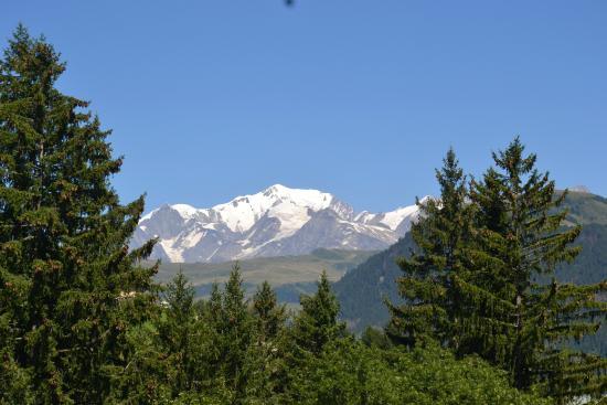 Le Very: Vue sur le Mont Blanc