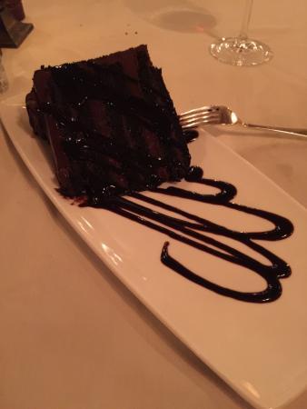 Sonoma Cellars Steakhouse at Sunset Station: Filet mignon and dessert
