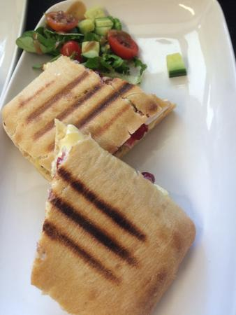 The Old Pump House: Bacon and Brie Panini