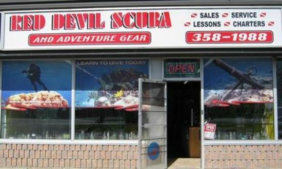 ชัตทัม, แคนาดา: Store front - come on in!