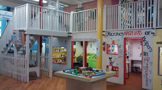 Utica Children's Museum first floor