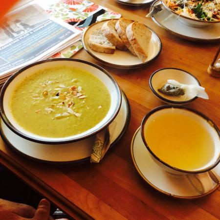 Takaka Infusion: Soup of the day and fav tea