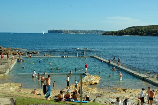 Swimming pool at Freshwater Beach