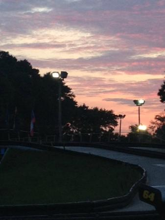 Kissimmee Go-Karts: Rinding into the Sunset