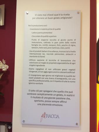 Gelateria F.lli Racca: Gelateria fantastica!!