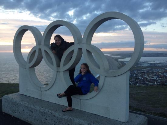 Weymouth, UK: Olympic circles