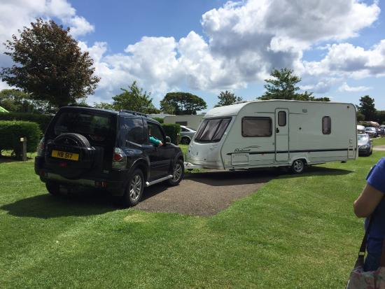 Gorran, UK: Nothing too much trouble , even pitched your caravan for you , so helpful.