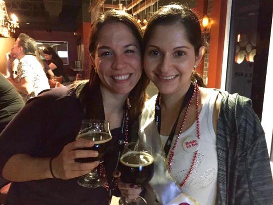 The Brew Bus-South Florida: Enjoying Barrel of Monks