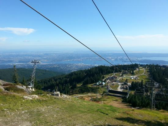 View Of Vancouver Bc Picture Of Grouse Mountain North Vancouver Tripadvisor