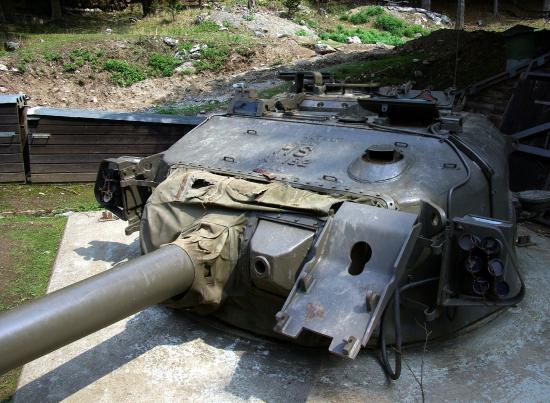Bunkermuseum: armamento