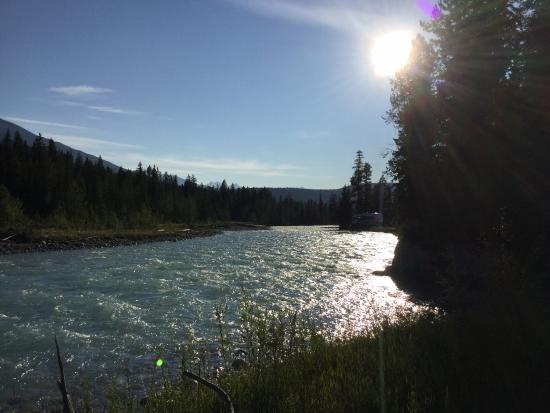 Golden, Canada: View looking toward Waitabit sites.