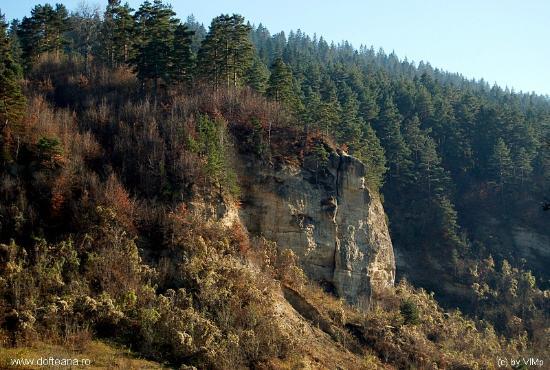 Dofteana, Rumunija: Rapa Crapata (Cracked Ravine)