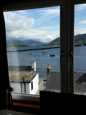 Argyll Hotel: Zimmeraussicht - Blick über den Hafen
