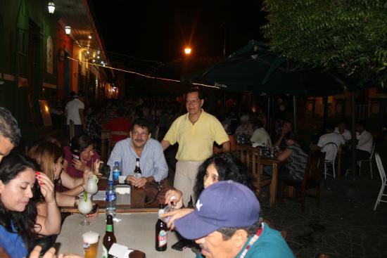 Hotel Cocibolca: Compartiendo con amigos