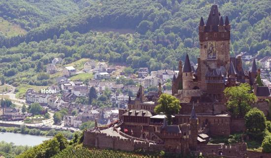 Moselromantik Hotel Panorama: Lage des Hotels in Cochem