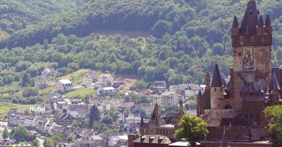 Moselromantik Hotel Panorama: Lages des Hotels in Cochem