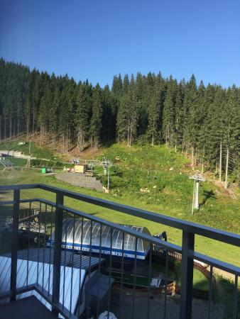 Hotel Fis Jasna : Room 206 view