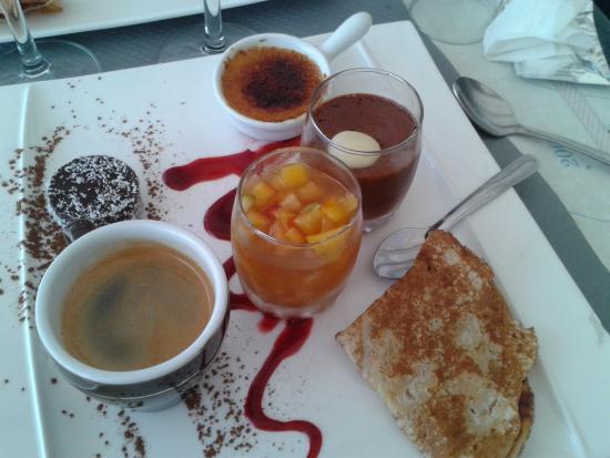 L'Escale : Café gourmand