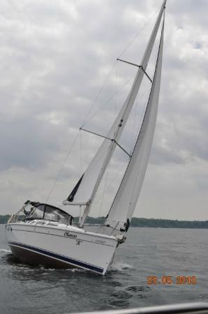 Barrie, Kanada: under sail