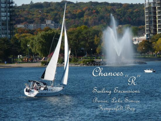 Barrie, Canadá: Sailing on the bay