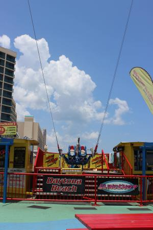 Boardwalk Amusement Area and Pier