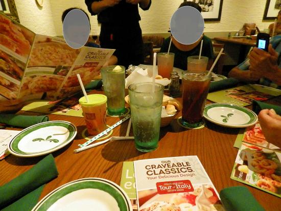 Late Night Family Dinner Picture Of Olive Garden