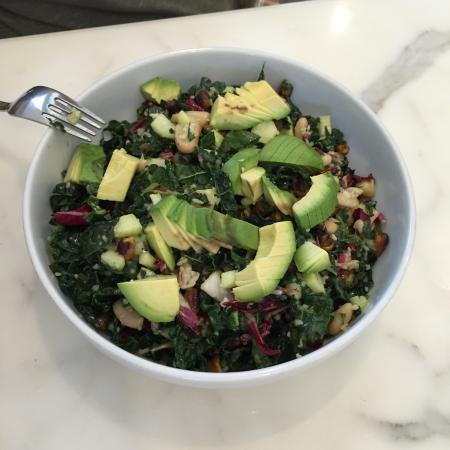 Olive & Thyme: Kale chopped salad. Amazing!