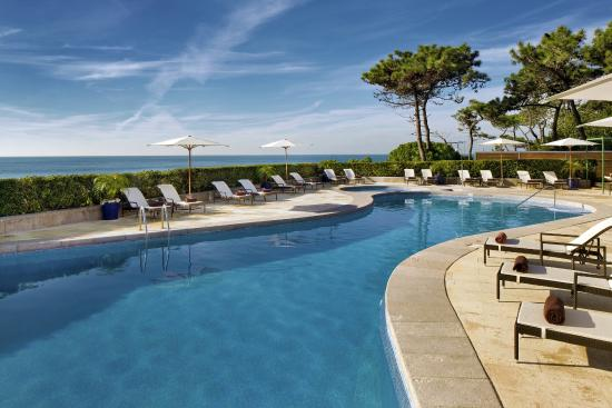 Senhora da Guia Cascais Boutique Hotel: Pool with Ocean Water overlooking Atlantics