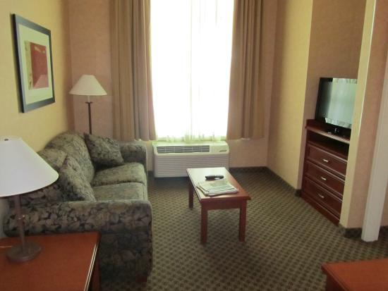 Hampton Inn & Suites Langley Surrey: Separate Living Room