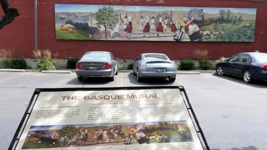 Basque Museum & Cultural Center : The Basque Mural, S Capitol Blvd, Boise, Idaho