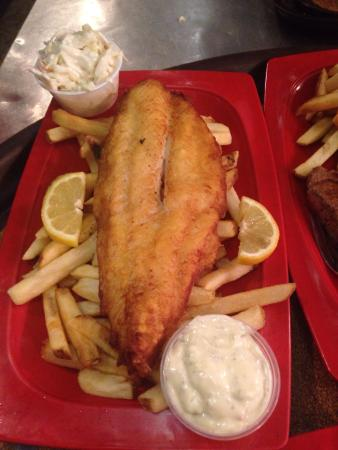 The Pioneer Patio Restaurant : Fish & Chips and the Pioneer Patio's very own Patio Breeze
