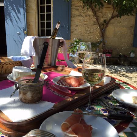 Romagne, Frankreich: Wat wil een mens nog meer!