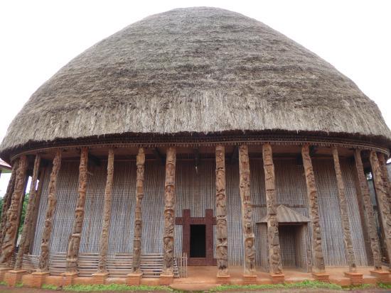 Bandjoun, Cameroon: ミュージアム併設の建物
