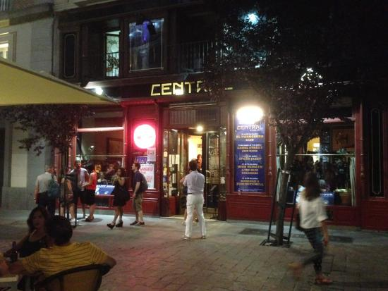 Terraza Del Café Central Picture Of Central Cafe Madrid