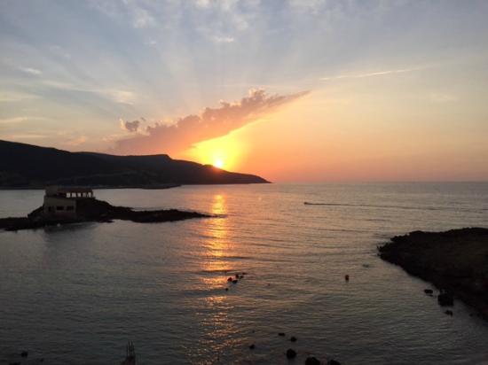 El Kala, Αλγερία: vu du coucher de soleil depuis la chambre