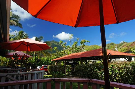 Hanalei Inn: All rooms with mountain and garden view