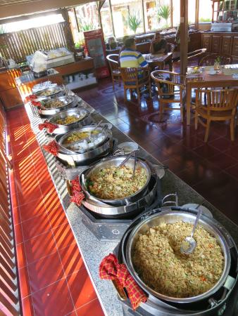 The Jayakarta Lombok Beach Resort Spa Breakfast Hot Dishes