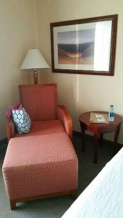 Hilton Garden Inn Columbus-University Area: Overstuffed chair for relaxing