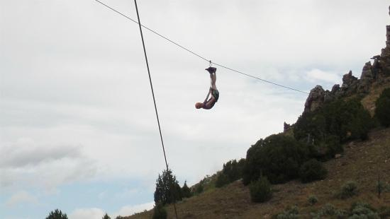 Lava Zipline: Or just hanging out