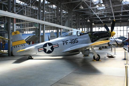 Rantoul, IL: North American P-51H, a very rare example of the breed