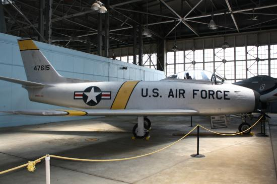 Rantoul, IL: An early F-86 A model