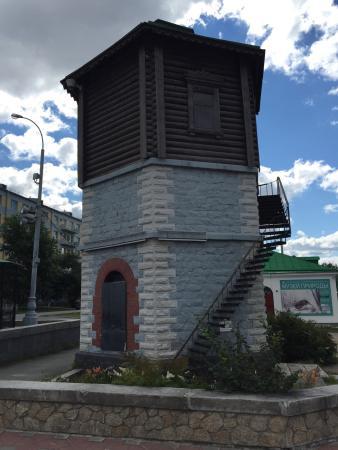 Старая водонапорная башня екатеринбург