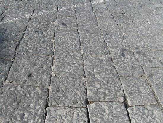Roman paving blocks on vietri street picture of antica ceramica