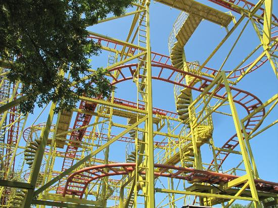 Wild Adventures Theme Park Bug Out Coaster