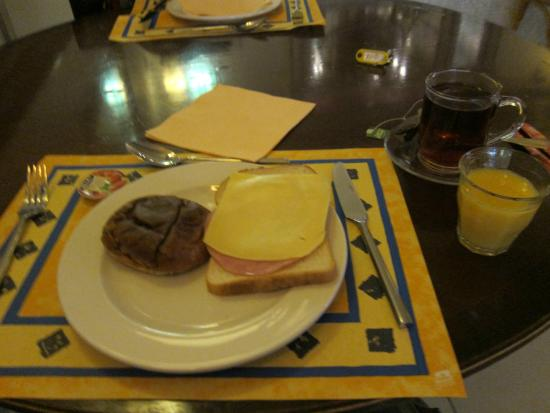 Hotel 83 Amsterdam: 朝食