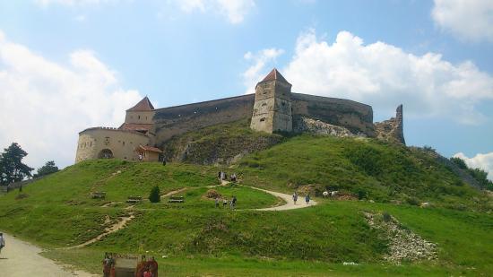 Rasnov Citadel: 要塞の外見